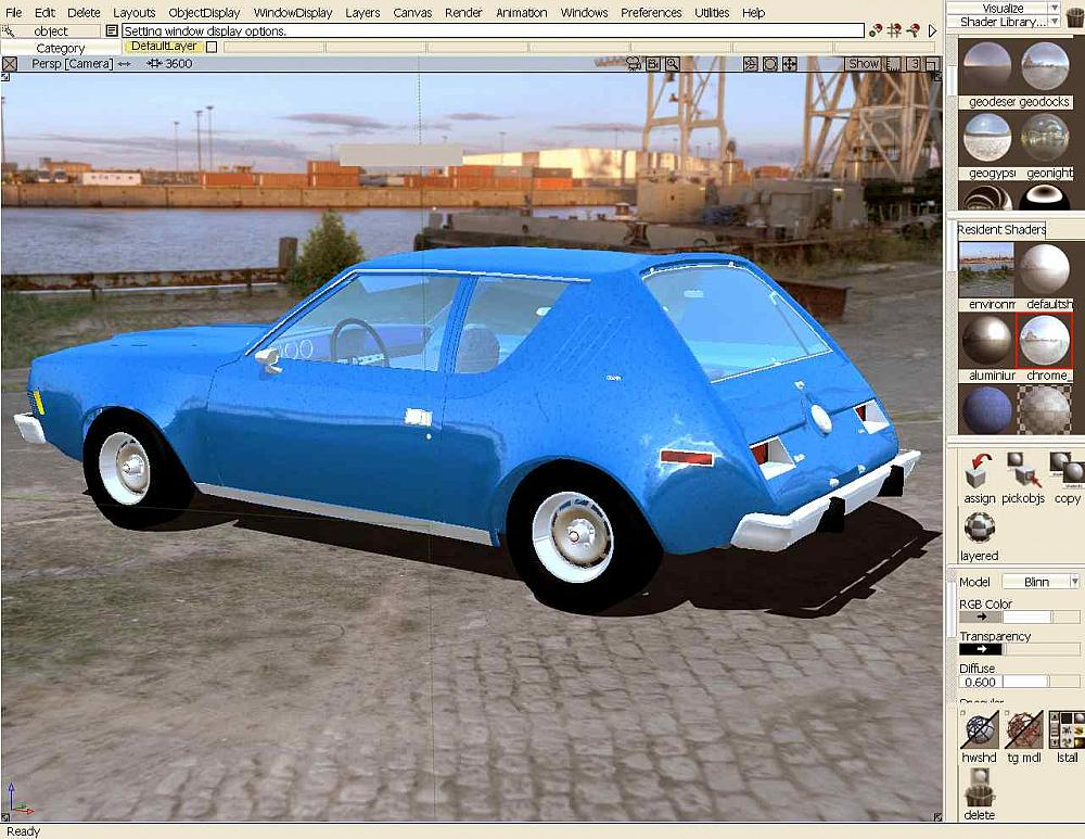74 Gremlin- Autodesk Alias Automotive